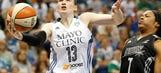 San Antonio Stars at Minnesota Lynx: 8/21/14