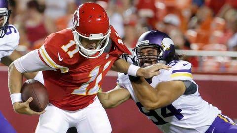 Vikings at Chiefs: 8/23/14