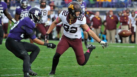 Do the Gophers have enough at wide receiver to improve their passing game?