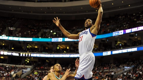 In Pictures: Thaddeus Young