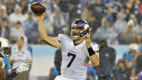 Vikings at Titans: 8/28/14