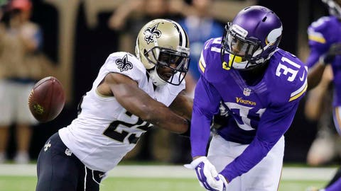 Vikings at Saints: 9/21/14