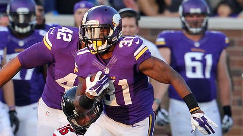 Jerick McKinnon, Vikings running back