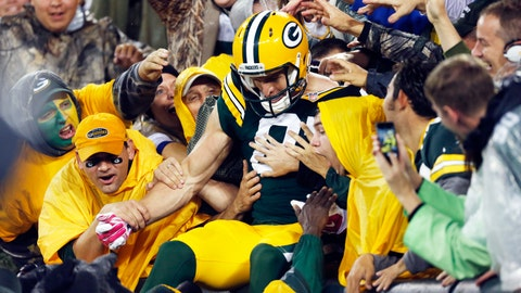 Vikings at Packers: 10/2/14