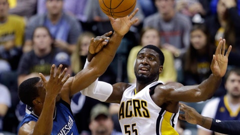 Wolves at Pacers: 10/7/14