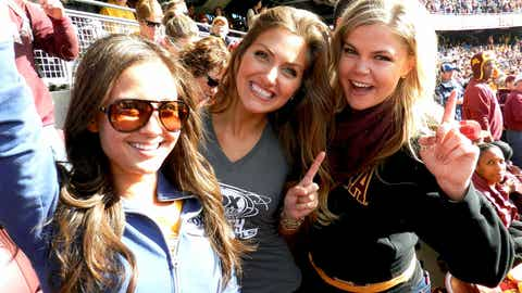#1 in the Western Division & #1 in our hearts. It's been a great Gopher Season so far & the FOX Sports North Girls are loving this team!