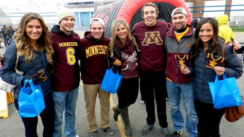 There were happy homecoming vibes before the game as fans from all around the state were preparing to celebrate