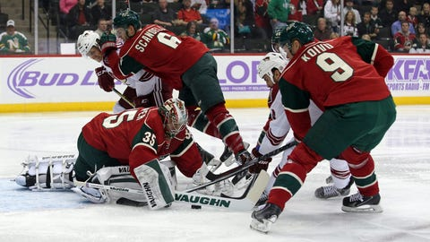 Arizona Coyotes at Minnesota Wild: 10/23/14