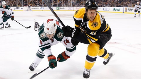 Wild at Bruins: 10/28/14
