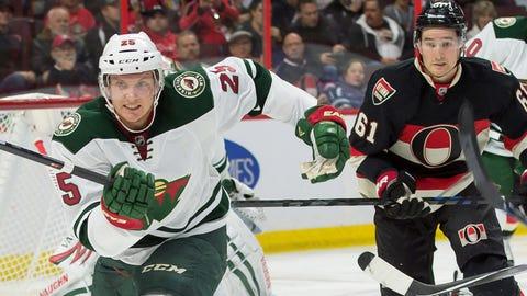 Minnesota Wild at Ottawa Senators: 11/6/14