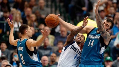 Wolves at Mavericks: 11/15/14