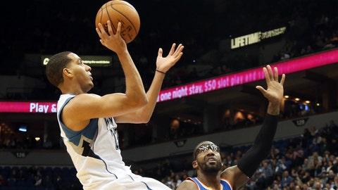 Knicks at Wolves: 11/19/14
