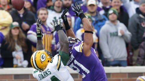 Packers at Vikings: 11/23/14