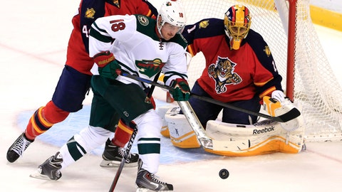 Wild at Panthers: 11/24/14