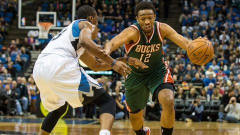 Bucks at Wolves: 11/26/14