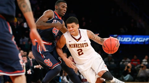 Gophers vs. Red Storm: 11/26/14