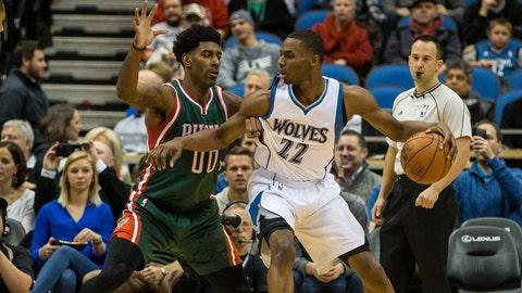 Bucks at Timberwolves: 11/26/14