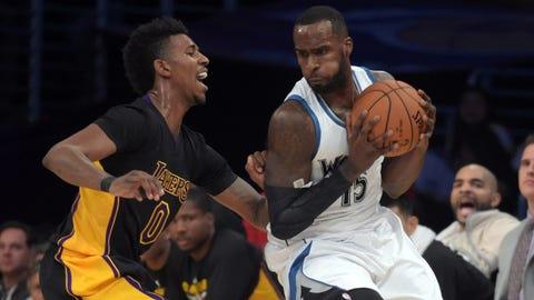 Timberwolves at Lakers: 11/28/14