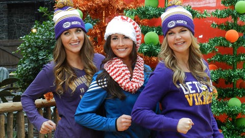 Stay tuned for the holiday video featuring all of the FOX Sports Girls from around the country.