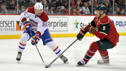 Canadiens at Wild: 12/3/14