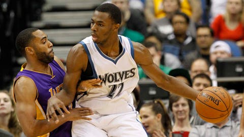 Lakers at Timberwolves: 12/14/14