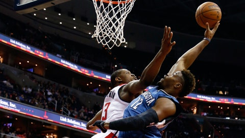 Wolves at Wizards: 12/16/14