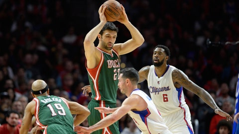 Bucks at Clippers: 12/20/14