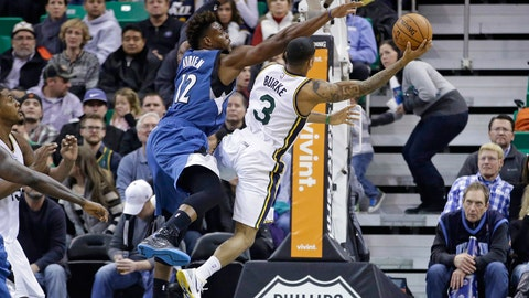 Wolves at Jazz: 12/30/14