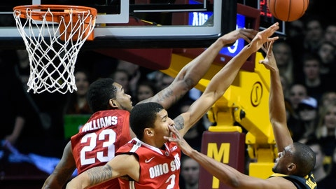 Buckeyes at Gophers: 1/6/15