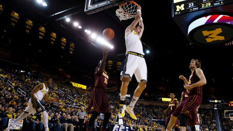 Gophers at Wolverines: 1/10/15