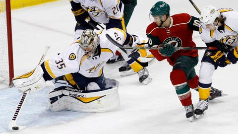 Predators at Wild: 1/10/15