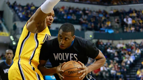 Wolves at Pacers: 1/13/15