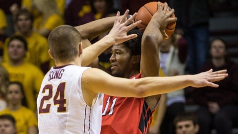 Rutgers Scarlet Knights at Minnesota Gophers: 1/17/15