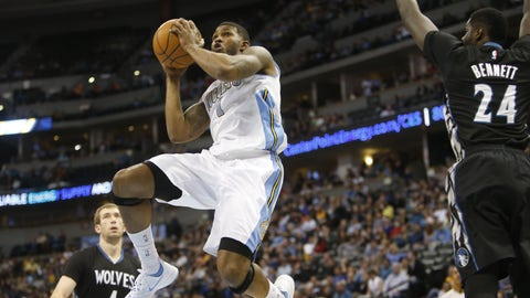 Minnesota Timberwolves at Denver Nuggets: 1/17/15