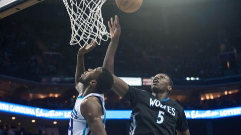 Timberwolves at Hornets: 1/19/14
