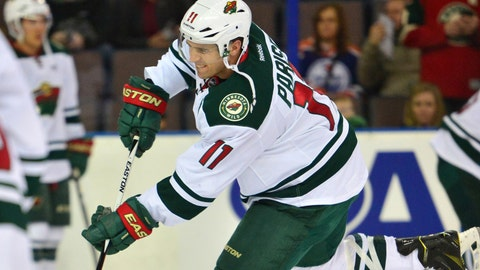 Wild at Oilers: 1/27/15