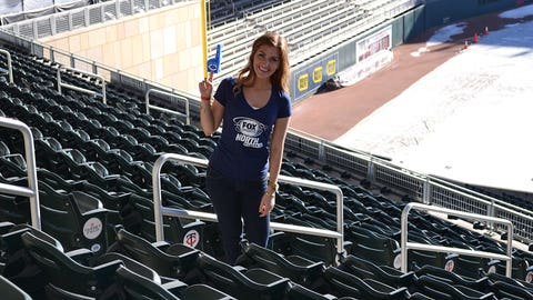 Snow covered Target Field was the perfect spot for the FOX Sports North Girls to enjoy TwinsFest 2015.