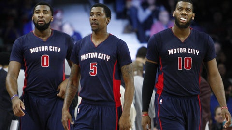 Minnesota Timberwolves at Detroit Pistons: 2/8/15