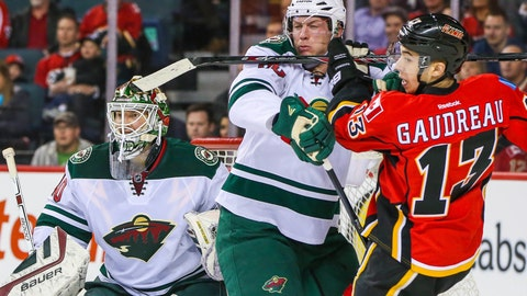 PHOTOS: Wild 3, Flames 2 (OT)