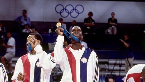 2000 Olympic gold medal for Team USA Basketball