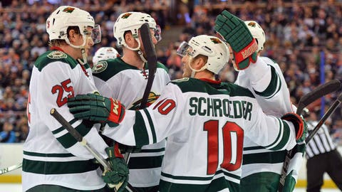Wild at Oilers: 2/20/15