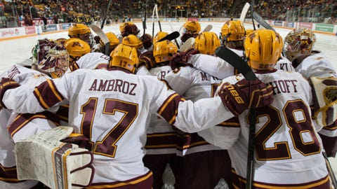 Gopher hockey arena renamed '3M Arena at Mariucci'