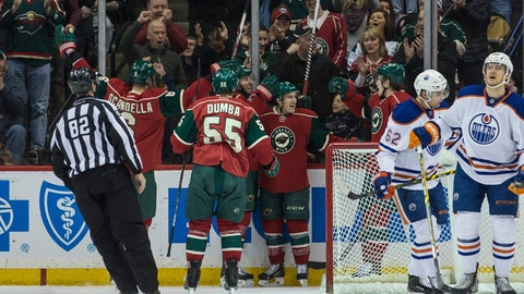 PHOTOS: Oilers 2, Wild 1