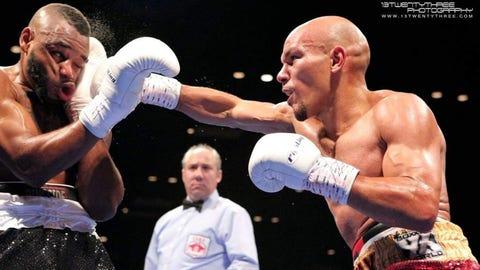 Caleb Truax, professional boxer, Osseo native