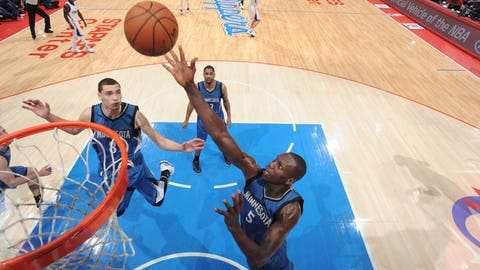 Timberwolves at Clippers: 3/9/15