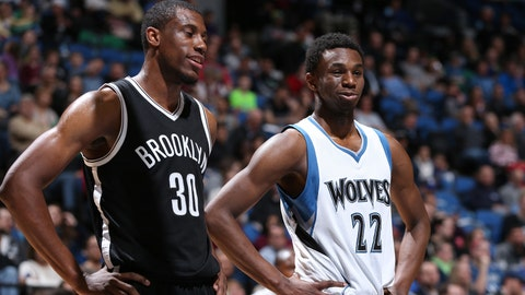 PHOTOS: Nets 122, Wolves 106