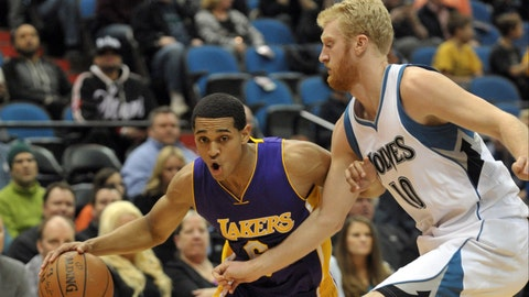 PHOTOS: Lakers 101, Wolves 99