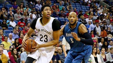 Timberwolves at Pelicans: 3/29/15