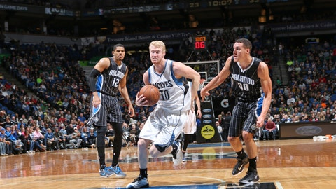 PHOTOS: Magic 97, Wolves 84
