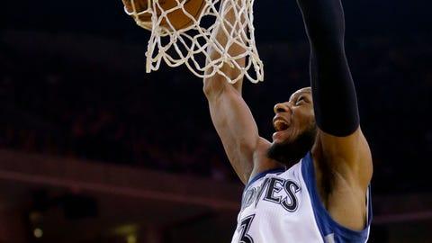 Timberwolves at Warriors: 4/11/15